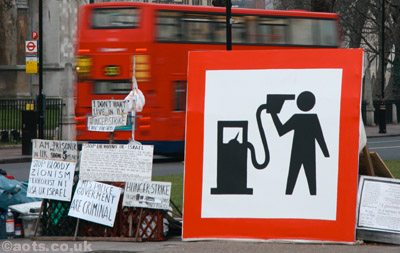 Banksy Petrol Head